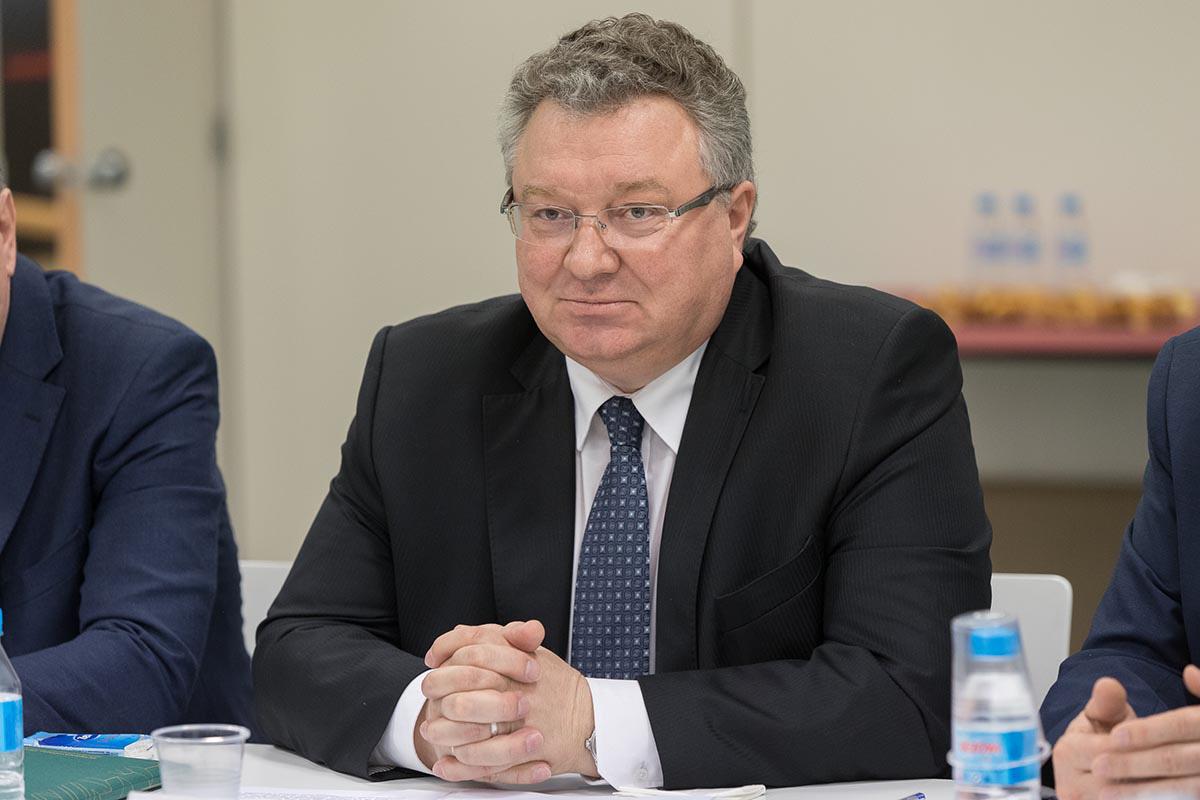Rector de la SPbPU A.I. Rudskoy