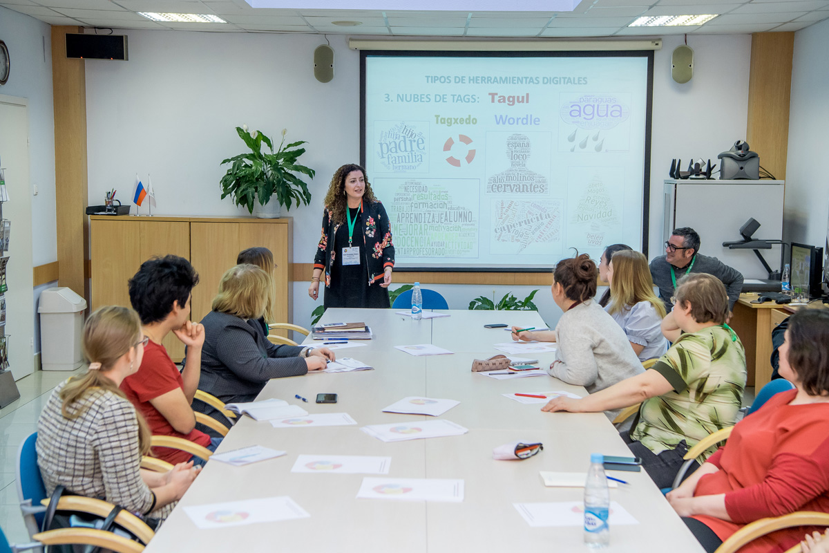 Seminario sobre la enseñanza del español como lengua extranjera de los profesores de la Universidad de Cádiz