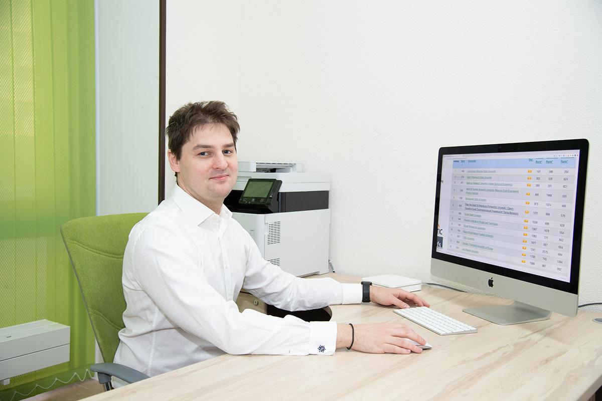 Vladimir TUCHKEVICH, subdirector del Departamento de tecnologías digitales de la SPbPU