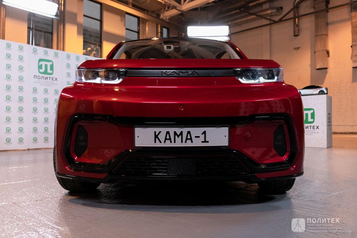 El smart crossover eléctrico compacto de preproducción KAMA-1