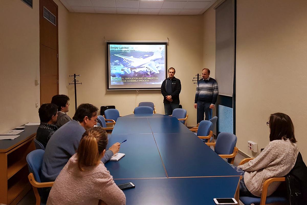 Los resultados de la cooperación entre la SPbPU y Airbus se presentaron en la Universidad de Carlos III