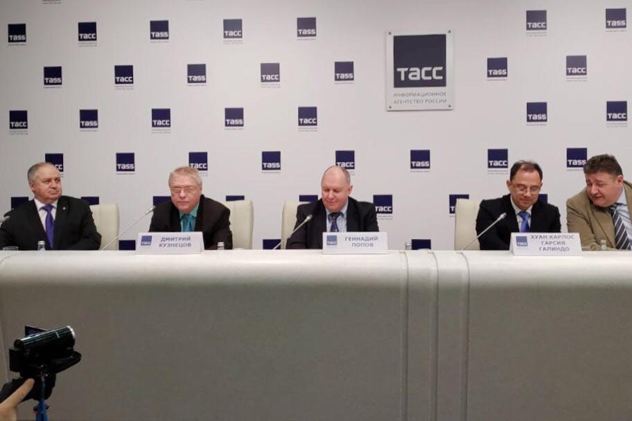 En la oficina de ITAR-TASS estuvo la conferencia de prensa dedicada a la Primera Semana Hispano-Rusa de Lengua y Cultura