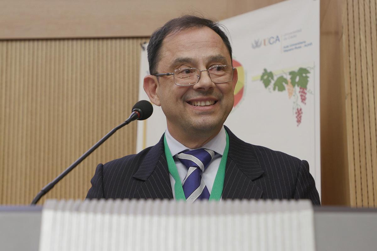 El director general del departamento de relaciones internacionales de la Universidad de Cádiz Juan Carlos García Galindo