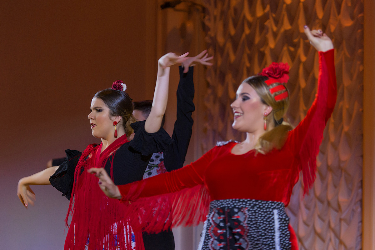 En el Blanco salón tuvo lugar el estreno ruso del espectáculo
