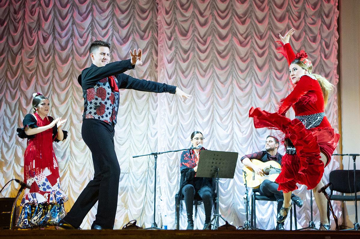 La culminación de La Primera Semana Hispano-Rusa de Lengua y Cultura fue el estreno mundial del espectáculo