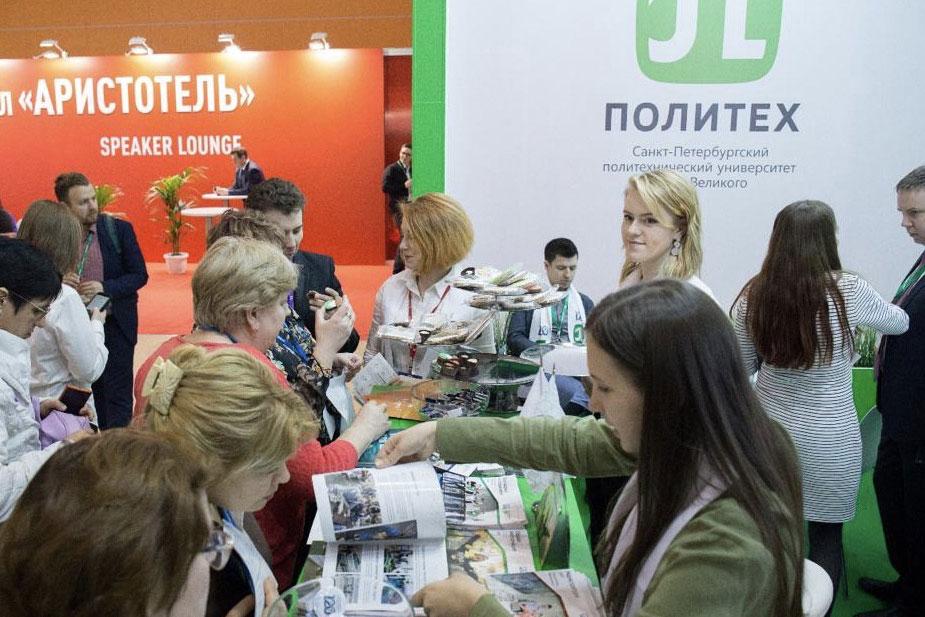El stand de la Polytech atrae la atención de los visitantes de FIEM