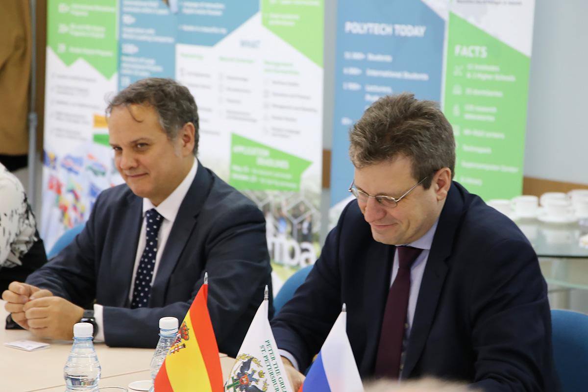 Socios estratégicos la UPM y la SPbPU desarrollan la cooperación: nuevas áreas