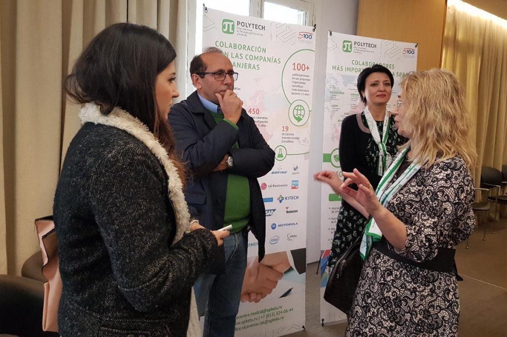 La SPbPU celebró el festival  en la oficina de Rossotrudnichestvo en Madrid
