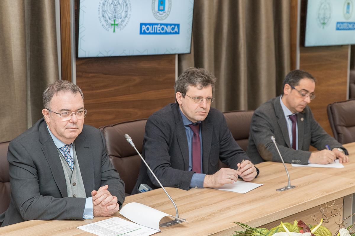 La Universidad Politécnica de Madrid y la SPbPU, socios estratégicos.