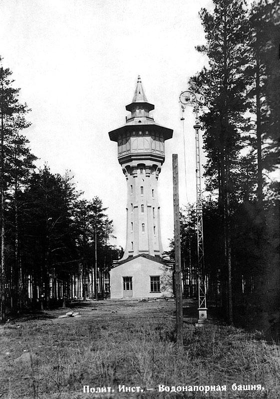 Torre de agua, año 1905