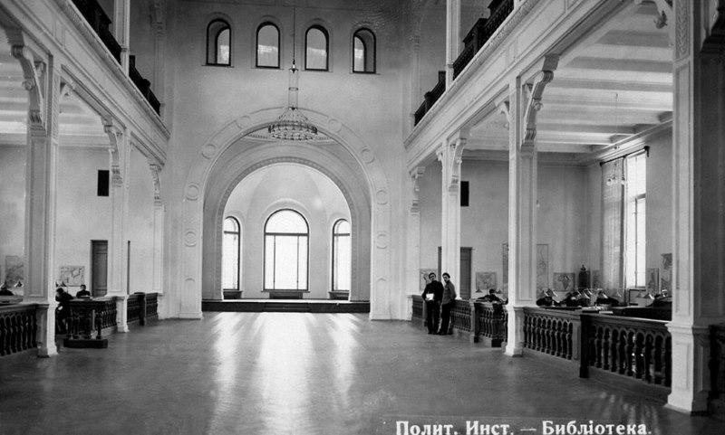 Biblioteca, años 1900-1910