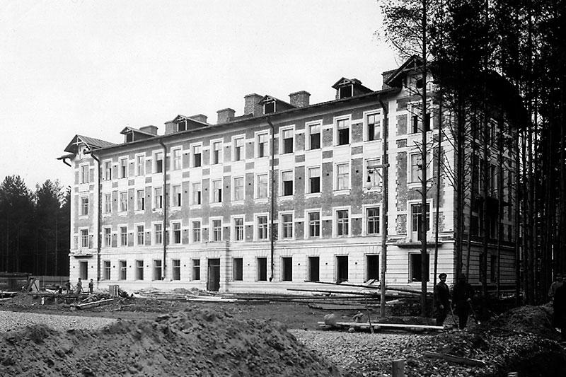 Primer casa de los profesores, año 1902